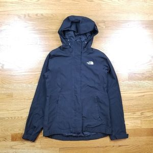 North Face Hyvent Windbreaker Black Rain Jacket